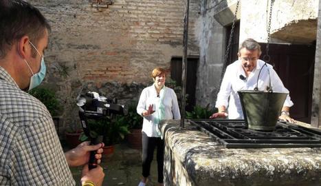Enregistrament de l'espai al Castell de les Pallargues.