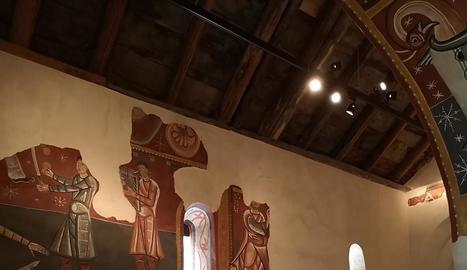 Visita 'musical' diumenge a Sant Joan de Boí i concert dissabte a Santa Maria de Taüll.