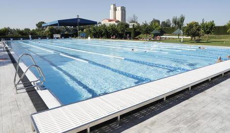 La piscina de 50 metres del CN Lleida es va reestrenar aquest juny després d'una profunda remodelació.