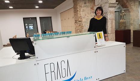 Imatge d'arxiu de l'Oficina de Turisme de Fraga.