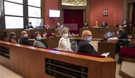© A judici l'exmesa del Parlament