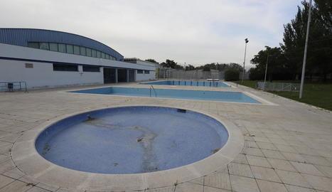 L'aspecte actual de les piscines municipals de Pardinyes.