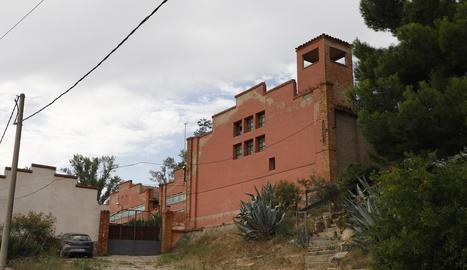 Zona on ahir es va produir l'operació a les Borges Blanques.