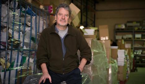 L'escriptor Francesc Puigpelat, l'any passat a Pagès Editors.