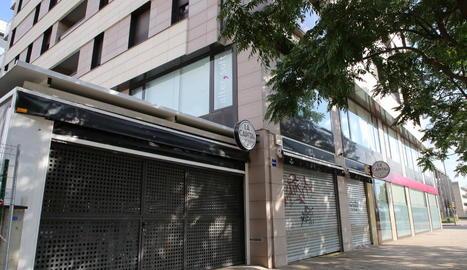 Un restaurant de Cappont que està tancat des de fa dos diumenges pel confinament.