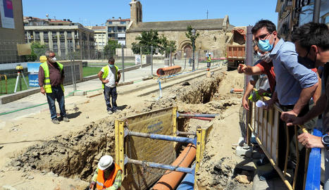 Renovació de la xarxa d'aigua i clavegueram a Sant Martí