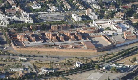 Vista aèria del Centre Penitenciari Ponent a Lleida.