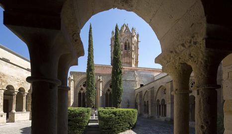 Imatge del monestir de Vallbona de les Monges.