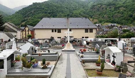 Imatge del cementiri de Bossòst, que ara s'ampliarà.