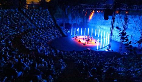 L'espectacle 'La llum de totes les coses' va omplir el Grec diumenge passat.
