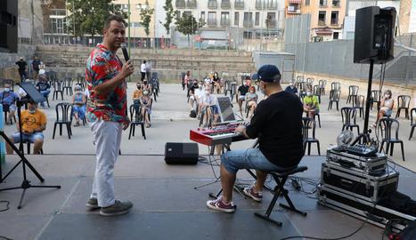 Concierto de Fase Cultura en la plaza Panera de Lleida