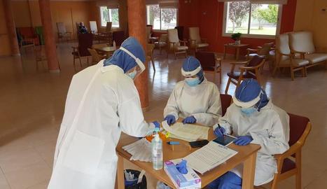 El Bus de la Salut de Lleida efectua 8.437 proves PCR a la demarcació des del març, en coordinació de l'Atenció Primària