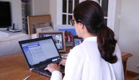 El teletreball té en bona mesura perfil femení atès el seu pes al sector serveis.