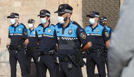 Toma de posesión de 31 nuevos agentes de la Guarida Urbana de Lleida