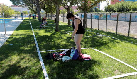 Lleida obre les piscines municipals de Balàfia i Cappont amb cita prèvia i mesures higièniques i de seguretat