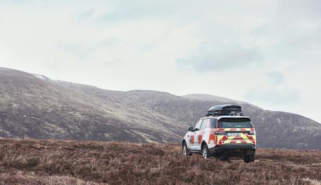 Un Land Rover Discovery especialment dissenyat per a emergències va fer el seu rescat número 500 en l'operació de South Eastern Mountain Rescue Association, a Irlanda.