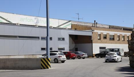 L'empresa tancada d'Aitona