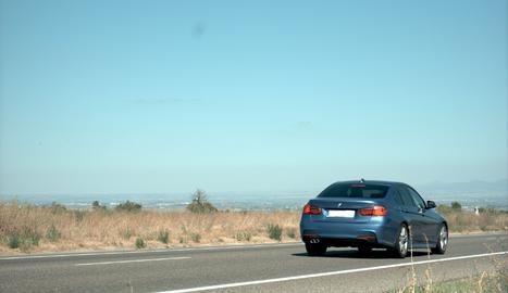Denunciat penalment un conductor que circulava a 189 km/h a l'Urgell