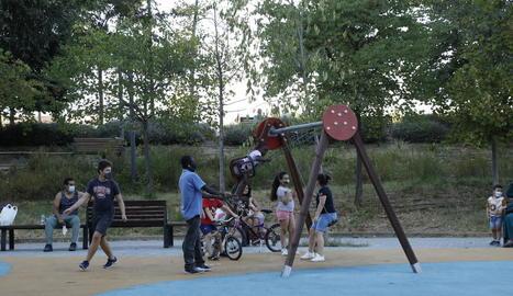 Reoberts els parcs infantils de la ciutat de Lleida