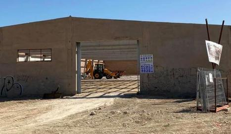 Les obres de l'establiment, que també tindrà pàrquing.