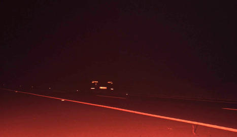 El turisme circulava a 246 km/h de nit per l'autopista.