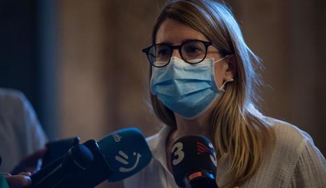Elsa Artadi, vicepresidenta de JxCat, en una imatge d'arxiu.