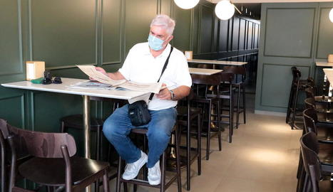 Els bars i restaurants de Lleida reobren l'interior dels establiments