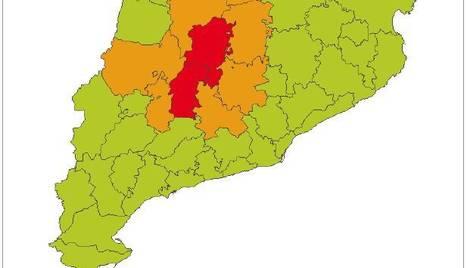 Alerta per vents molt forts a la Segarra i el Solsonès aquesta tarda