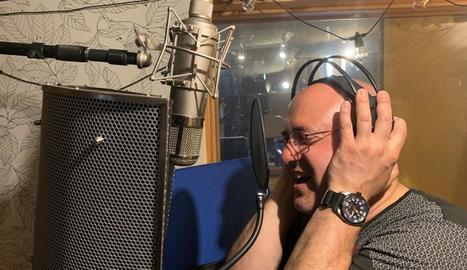 Ardèvol, durant l'enregistrament del disc.