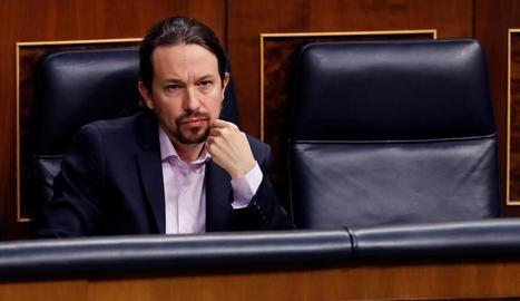 Iglesias defensa els comptes del seu partit, Podem.