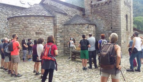 El Patronat de Turisme ha organitzat visites guiades al voltant de les esglésies romàniques.