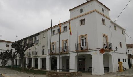 Vista de Gimenells, un dels municipis a la línia de bus.