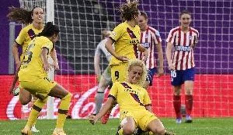 Hamraoui posa el Barcelona en semifinals de la Chapions