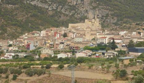 Vista panoràmica d'Os de Balaguer.
