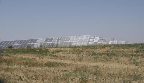 Denuncien un projecte per a una central solar de 60 hectàrees en la Conca de Tremp
