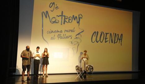 La cerimònia de cloenda de la novena edició del Mostremp.