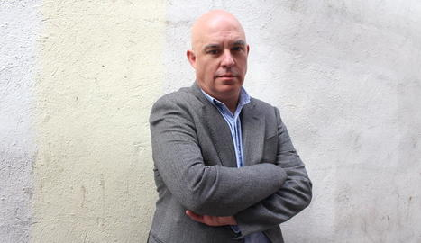 L'escriptor Albert Villaró, en una imatge d'arxiu.