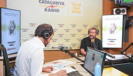 El periodista i escriptor lleidatà Carles Porta.