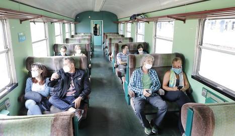El tren històric mantindrà els trajectes en les properes setmanes fins a finals d'octubre.