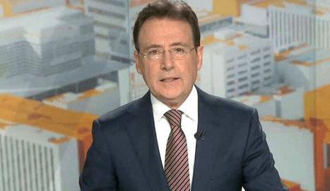 Matías Prats, a l'informatiu.