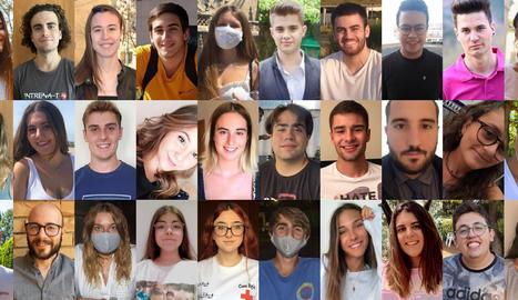 Trenta joves lleidatans rebutgen que es culpi el col·lectiu de ser els causants de l'actual rebrot