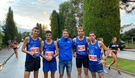 Xavi Badia, del Xafatolls, acaba quart al Català de 5 quilòmetres