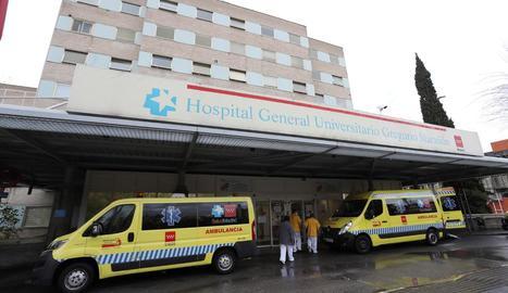 Un hospital de Madrid.