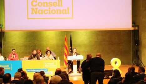 Imatge d'arxiu del Consell Nacional del PDeCAT que es va celebrar a finals de l'any passat.