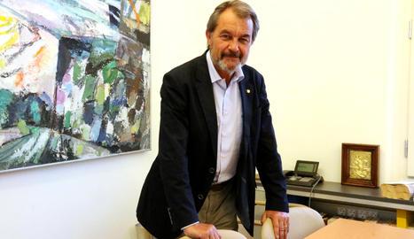 L'expresident del Govern Artur Mas.
