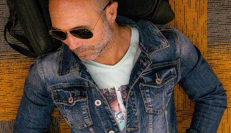 El fotògraf lleidatà Rafa Ariño.