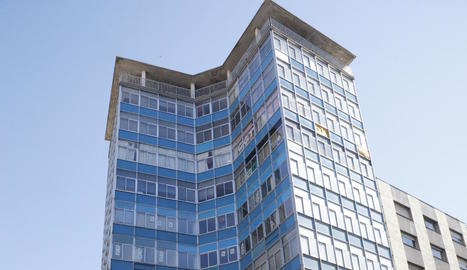 La façana de l'edifici.