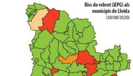 El risc de rebrots al Pirineu cau amb el descens del turisme