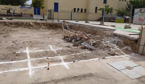 Les obres de la nova sala van començar a finals d'agost.
