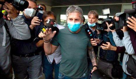 L'assetjament mediàtic a Jorge Messi.